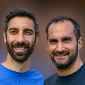 Mario Christou and Andy Kyprianides